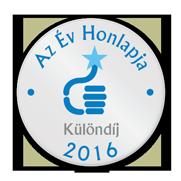 Az Év Honlapja 2016 - Különdíj